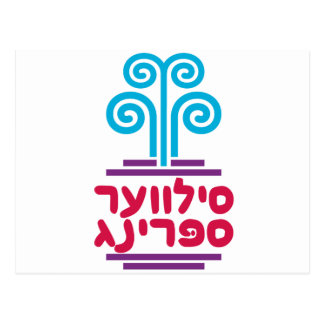 Silver Spring in Hebrew Postcard