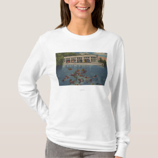 Silver Springs, Florida - View of Riverboat & T-Shirt