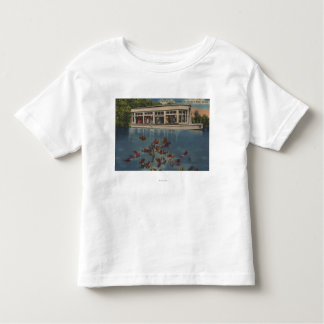 Silver Springs, Florida - View of Riverboat & Toddler T-shirt