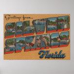 Silver Springs, la Florida - escenas grandes de la Póster