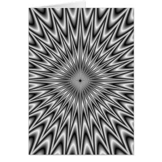 Silver Square Card