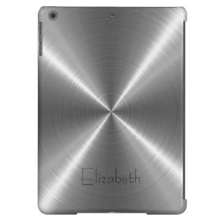 Silver Stainless Steel Metal Case For iPad Air