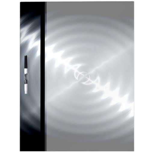 Metal Dry Erase Board : Silver stainless steel metal dry erase board zazzle