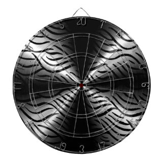 Silver Stainless Steel Metal Elements Dartboard