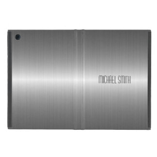Silver Stainless Steel Metal iPad Mini Case