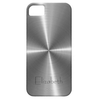 Silver Stainless Steel Metal iPhone SE/5/5s Case