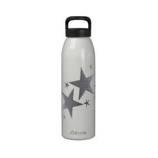 Silver Star Liberty Water Bottle