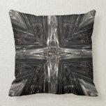 Silver star pillows