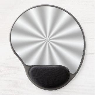 Silver Starburst Gel Mouse Pad