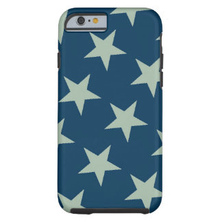 Silver stars iPhone 6 case