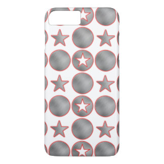 Silver Stars iPhone 7 Plus Case