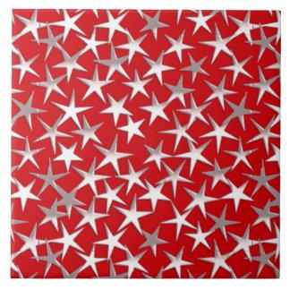 Dark Red Ceramic Tiles Zazzle