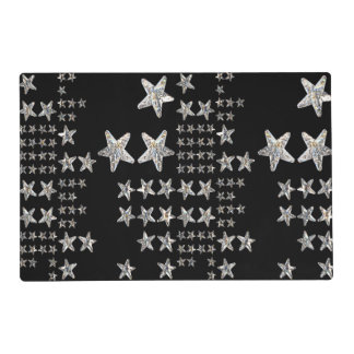 Silver Stars Placemat