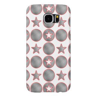Silver Stars Samsung Galaxy S6 Case