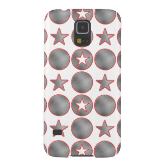 Silver Stars Samsung Gallaxy S5 case