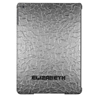 Silver Steel Metal Cover For iPad Air
