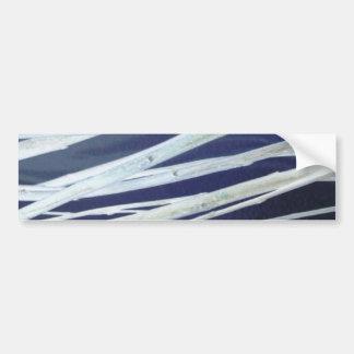 Silver Stems Bumper Sticker