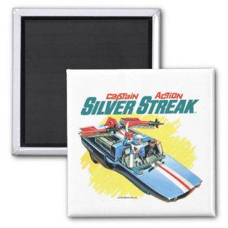 Silver Streak Magnet
