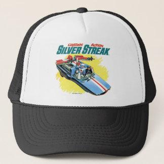 Silver Streak Vintage Ad Trucker Hat