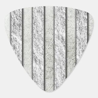 Silver Stripes Pattern Guitar Pick