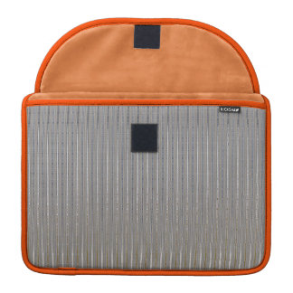 Silver Stripes Pattern Sleeve For MacBooks