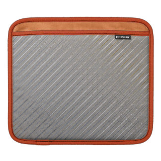 Silver Stripes Pattern Sleeves Sleeve For iPads