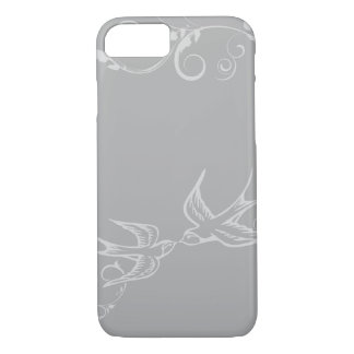 Silver Swallow iPhone 7 case