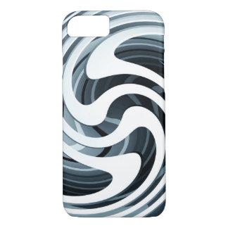 Silver Swirl iPhone 7 Case