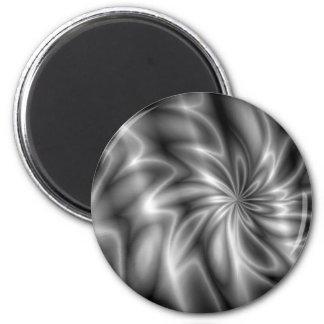 Silver Swirl Magnet