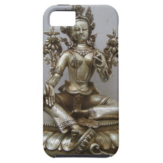 SILVER TARA BUDDHIST GODDESS iPhone 5 CASES
