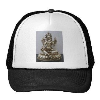 SILVER TARA BUDDHIST GODDESS TRUCKER HAT