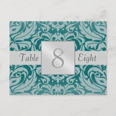 Wedding Finger Food Ideas on Teal Wedding Table Ideas