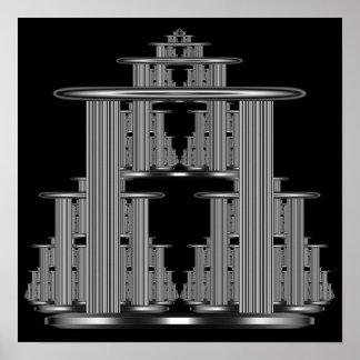 Silver Temple Complex Poster