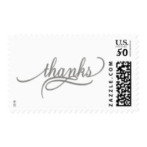 Silver Thank You Stamps