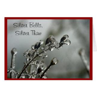 Silver Thaw Christmas Card