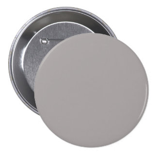 Silver Thistle in an English Country Garden Pinback Button