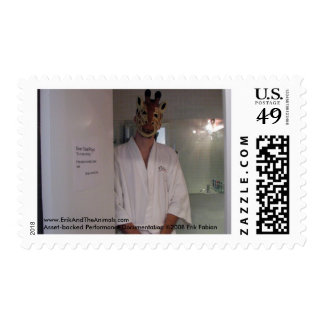 "Silver Ticket Project: ""It's a spa concept..."" Postage Stamp"
