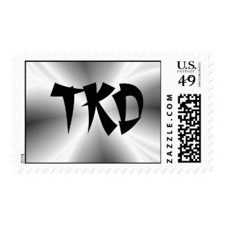 Silver TKD Postage Stamp