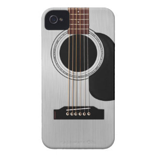 Silver Top Acoustic Guitar Case-Mate iPhone 4 Case