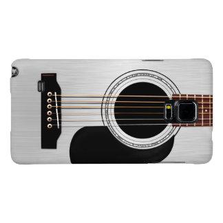 Silver Top Acoustic Guitar Galaxy Note 4 Case
