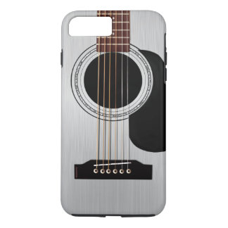 Silver Top Acoustic Guitar iPhone 7 Plus Case