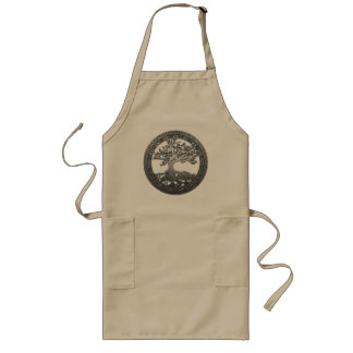 Silver Tree of Life Apron