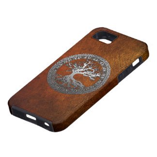 Silver Tree of Life iPhone 5 Cases