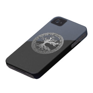 Silver Tree of Life Blackberry Bold Case