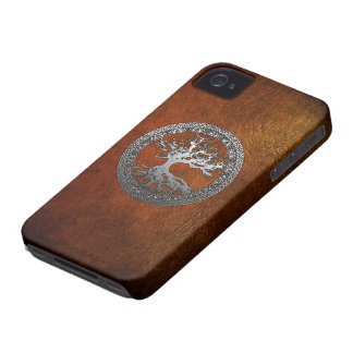 Silver Tree of Life Case-Mate iPhone 4 Cases