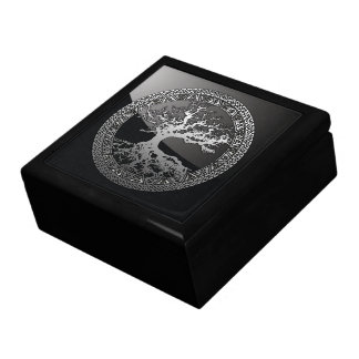 Silver Tree of Life Gift Box