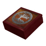 Silver Tree of Life Jewelry Box