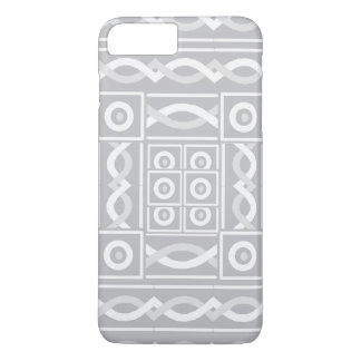 Silver Tribal Scribe iPhone 8 Plus/7 Plus Case
