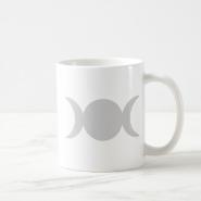 Silver Triple Goddess Mug
