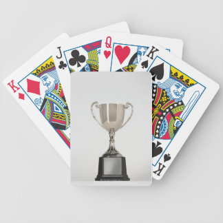 Silver Trophys Bicycle Playing Cards